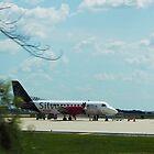 Turbo Prop Commuter Plane by Laura Puglia