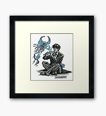 Song for the Butterfly-Jellies Framed Print