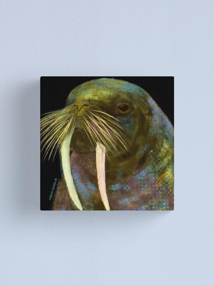 Alternate view of Walrus Canvas Print