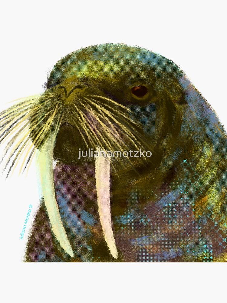 Walrus by julianamotzko