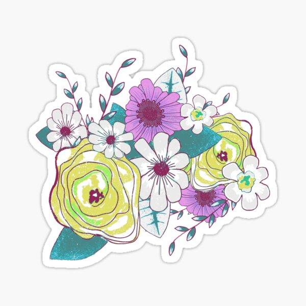 Floral Bouquet Sticker