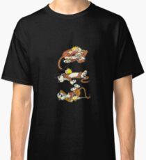 Calvin and Hobbes Cute  Classic T-Shirt