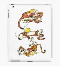 Calvin and Hobbes Cute  iPad Case/Skin