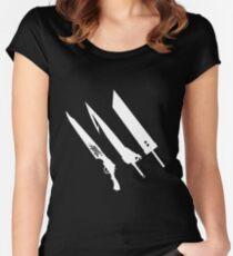 Final Fantasy Swords Women's Fitted Scoop T-Shirt