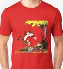 Calvin and Hobbes Playground Unisex T-Shirt