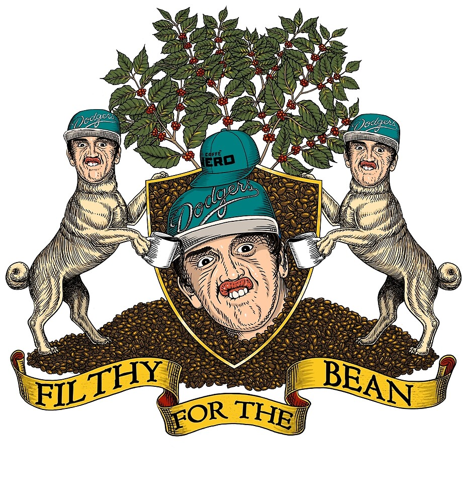Filthy For The Bean Merchandise by edzitron