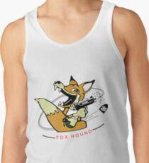 MGS - 90's Foxhound insignia Tank Top