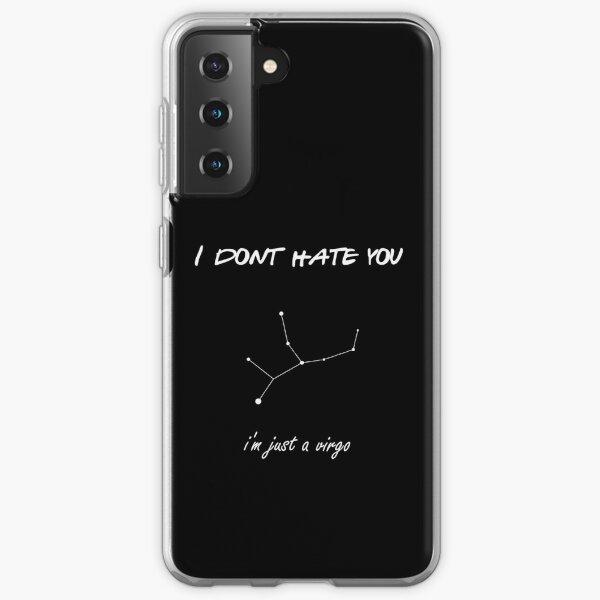 Virgo - Zodiac Astrology Just a Virgo Samsung Galaxy Soft Case