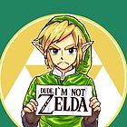 Dude, I'm Not ZELDA! by rustenico