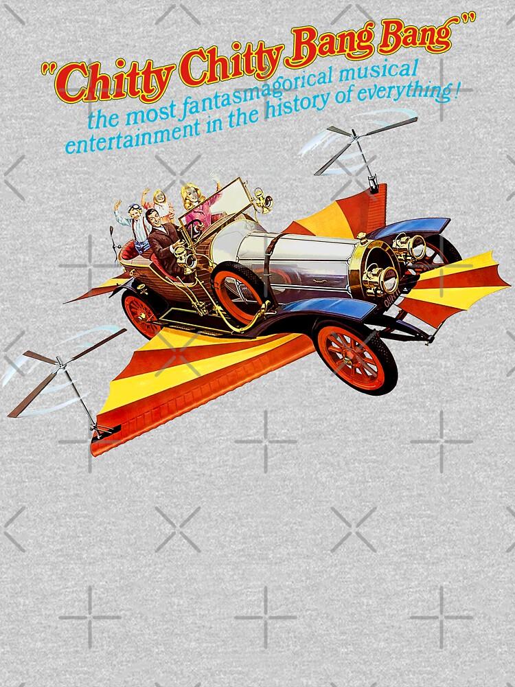 Chitty Chitty Bang Bang Shirt, Sticker, Poster, Mask by TV-Eye-On-Me