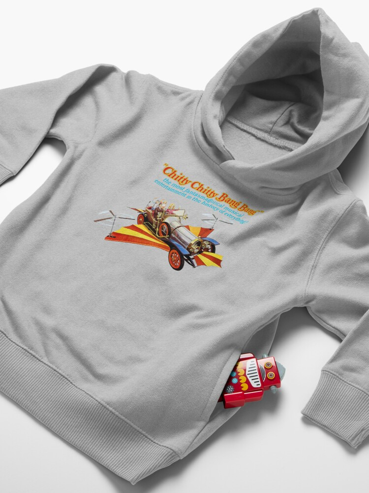 Alternate view of Chitty Chitty Bang Bang Shirt, Sticker, Poster, Mask Toddler Pullover Hoodie