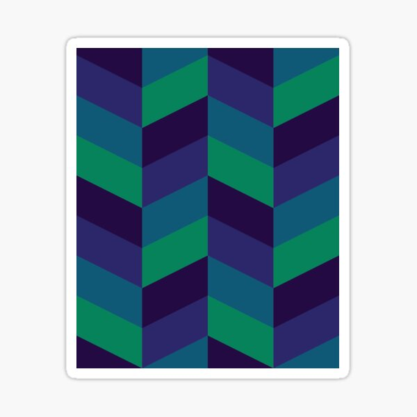 Cool Geometry Sticker