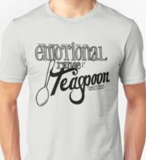 Emotional Range of a Teaspoon Unisex T-Shirt