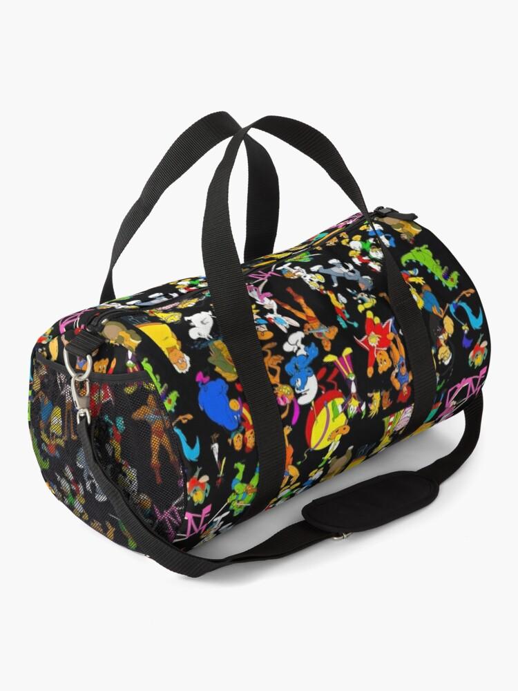 Alternate view of cartoon nostalgia Duffle Bag