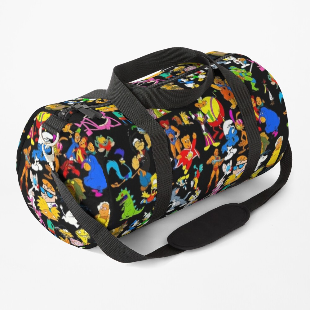 cartoon nostalgia Duffle Bag