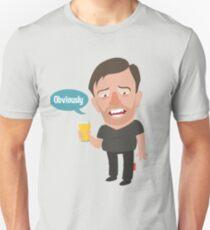 Ricky Gervais Unisex T-Shirt