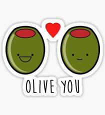 Olive You!  Sticker