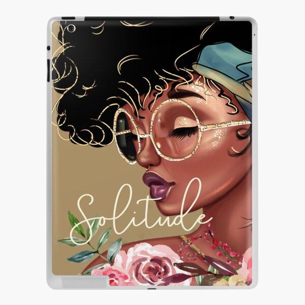Solitude: African American Black Woman Artwork iPad Skin