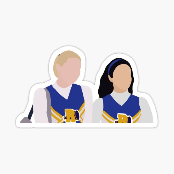 betty and veronica  Sticker