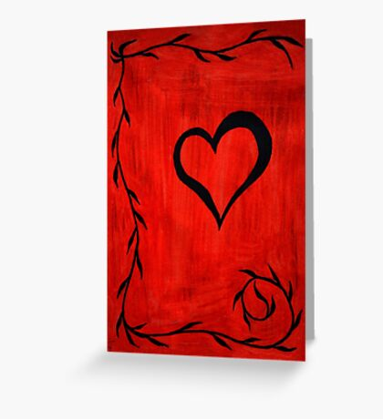 Heart Mystery Greeting Card
