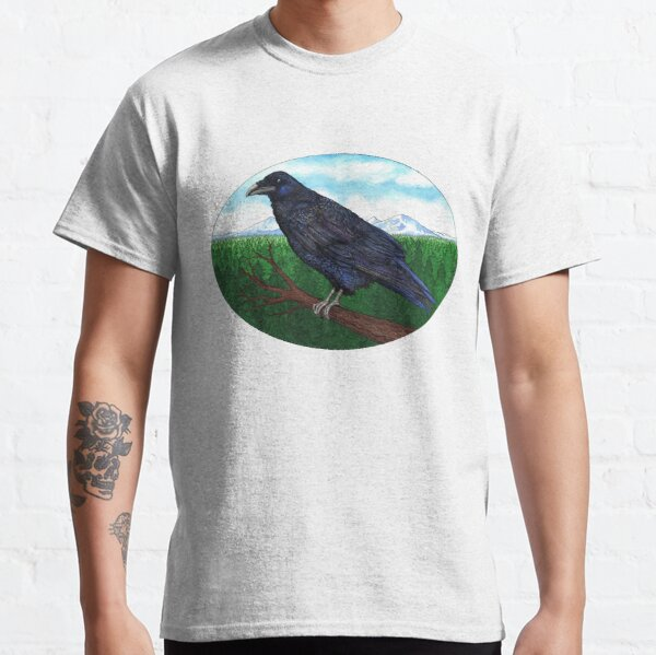 Raven and the Three Sisters   Classic T-Shirt