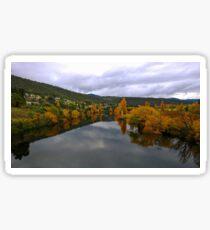Derwent Valley Autumn Sticker