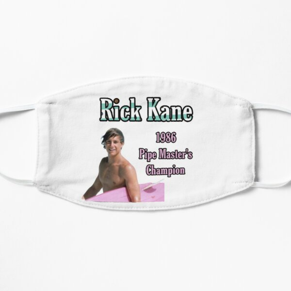 North Shore Surf Rick Kane 1986 Pipe Master's Champion Flat Mask