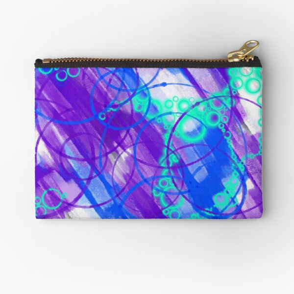 Cold City Nights Zipper Pouch