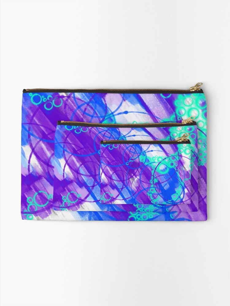 Alternate view of Cold City Nights Zipper Pouch