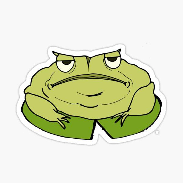 Big Green Toad Sticker Sticker