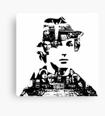 Rocky Tribute Canvas Print