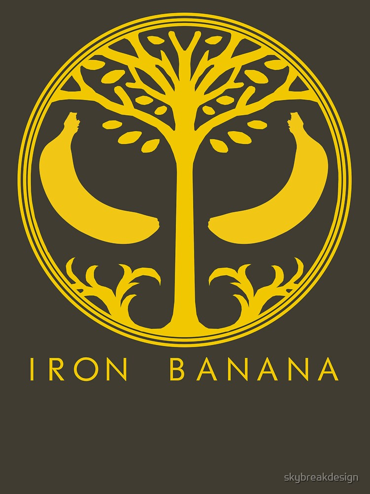 IRON BANANA by skybreakdesign