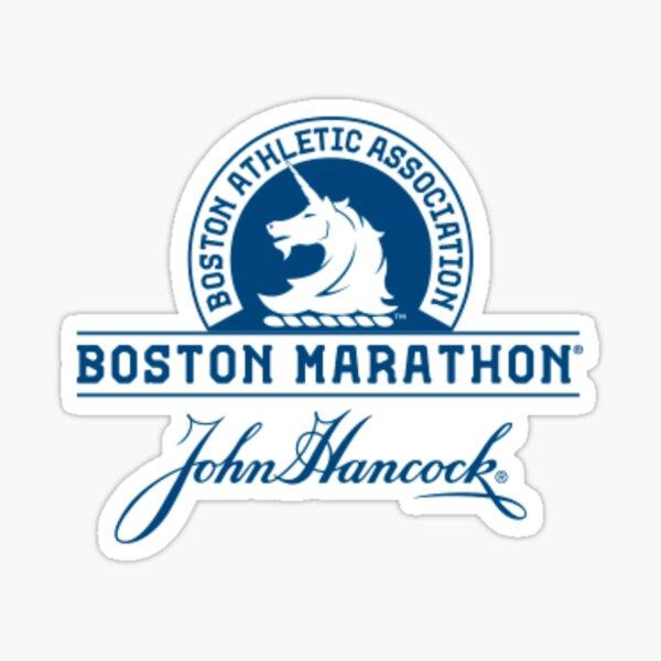 Boston Marathon Sticker