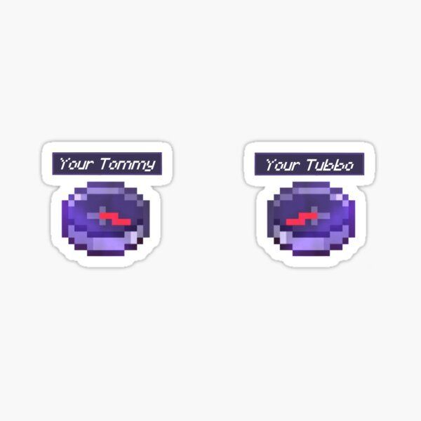 Tommy and Tubbo Compass Sticker