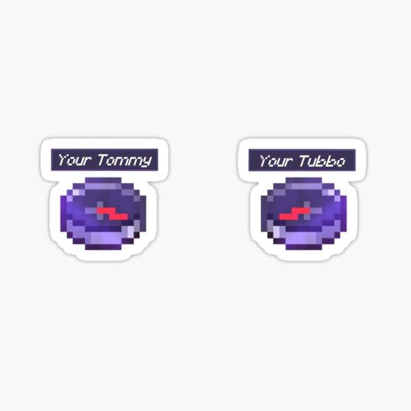 Boussole Tommy et Tubbo Sticker
