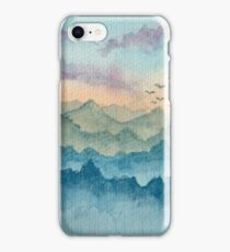Deep within the mountains iPhone Case/Skin