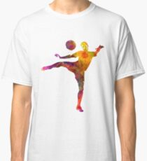 man soccer football player 07 Classic T-Shirt