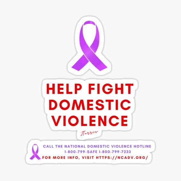 Domestic Violence Sticker