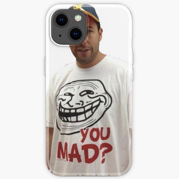 Adam Sandler wearing a u mad T-shrit  iPhone Soft Case