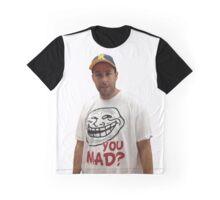 Adam Sandler wearing a u mad T-shrit  Graphic T-Shirt