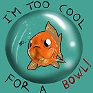 Common goldfish - Too cool for a bowl by Furiarossa