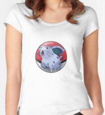 Nidoran (female) pokeball - pokemon Women's Fitted Scoop T-Shirt