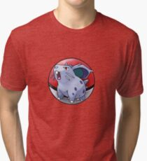Nidoran (female) pokeball - pokemon Tri-blend T-Shirt