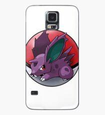 Nidoran (male) pokeball - pokemon Case/Skin for Samsung Galaxy