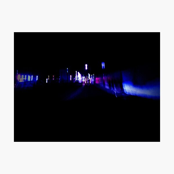 it's all a blur Photographic Print
