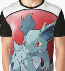 Nidorina pokeball - pokemon Graphic T-Shirt
