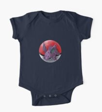 Nidorino pokeball - pokemon One Piece - Short Sleeve
