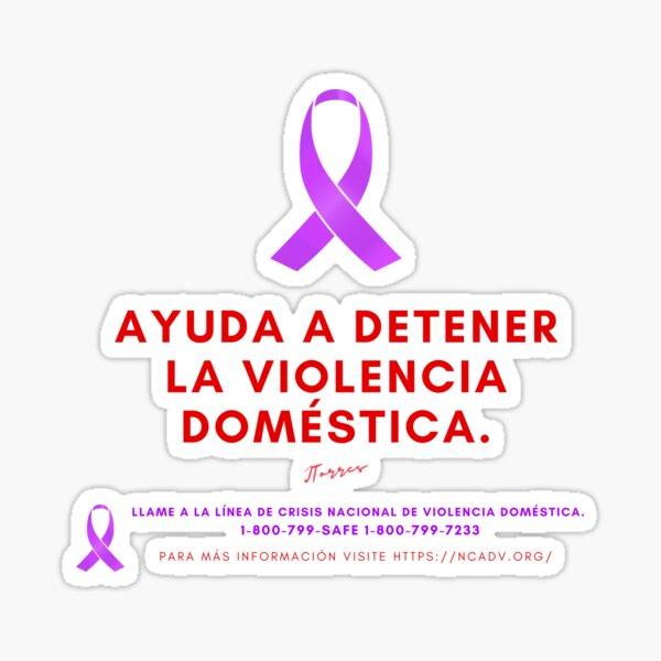 Violencia Doméstica  Sticker
