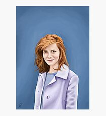 Louise Brealey Photographic Print