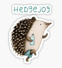 Hedgejog Sticker